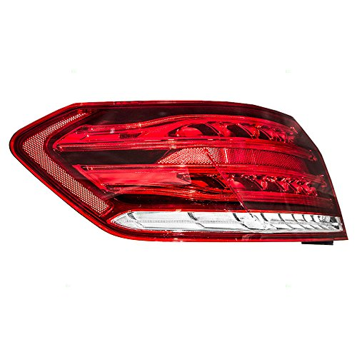 Drivers Taillight Taillamp Quarter Panel Mounted Lens Replacement for Mercedes-Benz Sedan 2129060757 - Chevelle Tail Lens