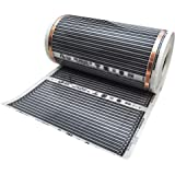 Taeil W25-CHF1934-KIT35 Underfloor Carbon Heating Film Essential Kit 120V - 35 Sq Ft