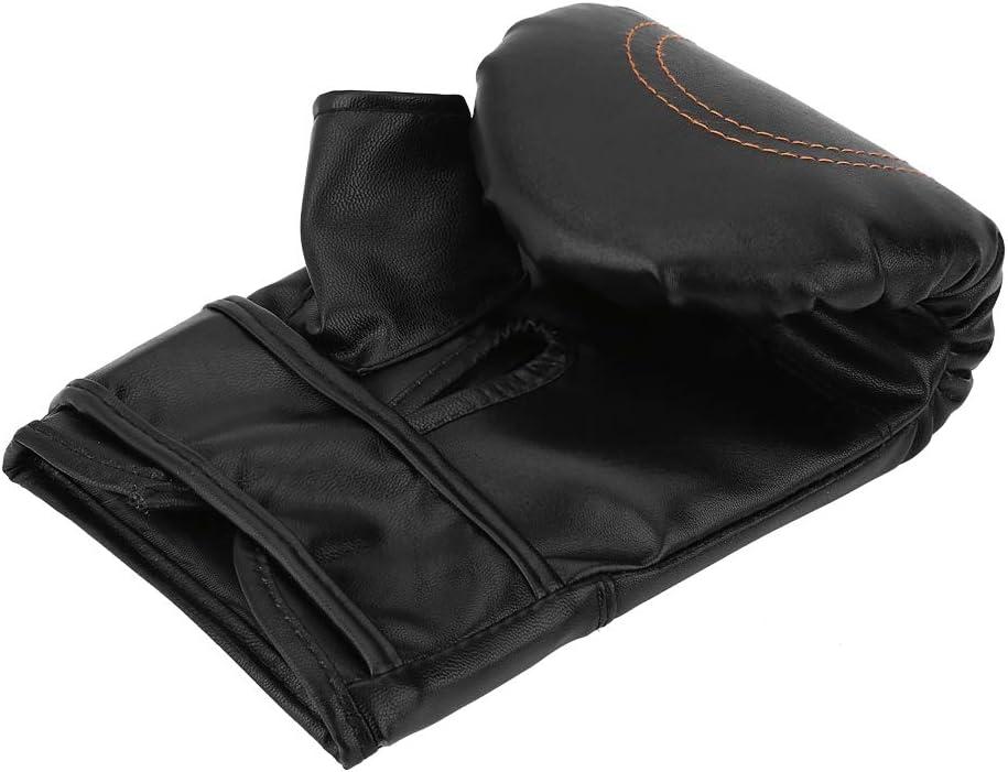 poin/çon durable de cuir dunit/é centrale d/épaississement donnant des coups de pied Gants dentra/înement de boxe pour le travail de sac de boxe de formation de Taekwondo Gants de poin/çon confortables