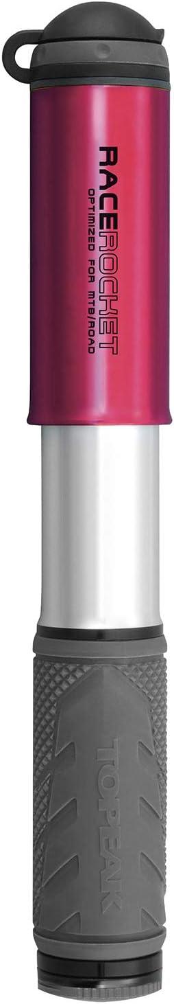 Unisex non applicabile Topeak RaceRocket-Red Pumps-Mini Adulto