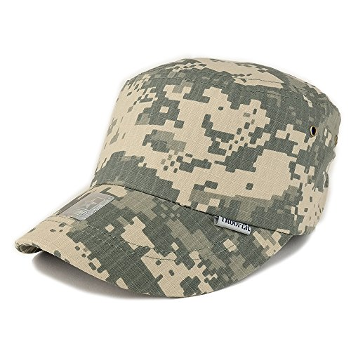 Boys Acu Digital Camo (Trendy Apparel Shop Kid's Youth Size Digital Camo Military Jeep Style Army Cap - ACU)
