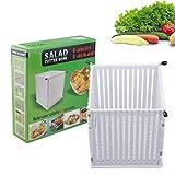 TAKOYI Salad Cutter Bowl, Fruit Vegetable Chopper Collapsible, Kitchen Salad Maker multifunctional Large Slicer Serves 3 to 4 People
