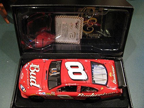 (RCCA Elite Top of the Line Diecast 2007 Dale Earnhardt Jr #8 Impala SS COT Budweiser Car of Tomorrow Hood Opens, Trunk Opens HOTO Motorsports Authentics (AKA Action Racing) Owners Elite)