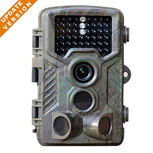 [Updated Version] 16MP 1080P HD Game and Trail camera for Deer Hunting No Glow Infrared Scouting...