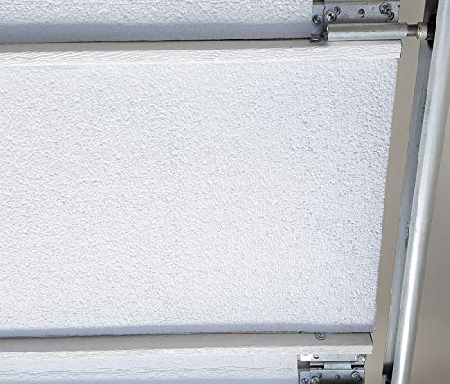 White Double Garage Door Insulation Weatherization Kit Reflective Foam (not Bubble) 5 Panel 18' x 8'