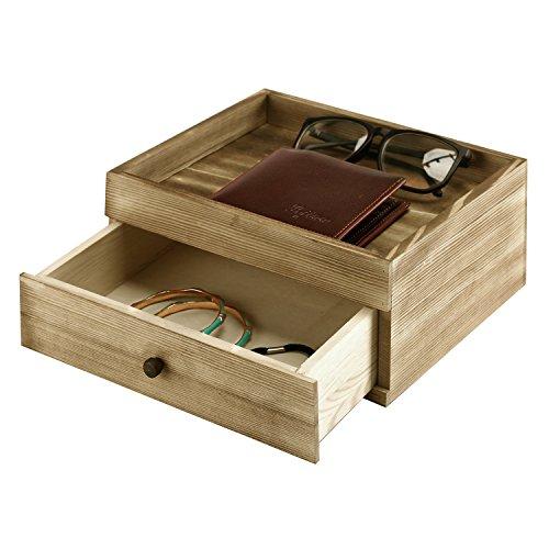 valet tray wood - 3