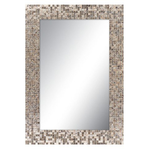 Surya Decorative Wall Mirror - Copper
