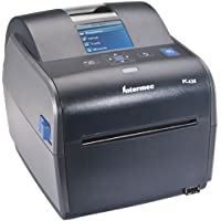Intermec PC43D Monochrome Desktop Direct Thermal Printer with Icon-graphics Display and Americas Power Cord, 8 in/s Print Speed, 203 dpi Resolution, 4.10 Print Width, 24 VDC