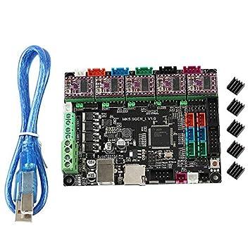 CUHAWUDBA Accesorios de la Placa Base de la Impresora 3D MKS SGen ...