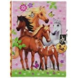 Hot Focus 251EH Enchanted Horse Diary with Lock & Keys
