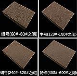 100 pieces grit 60 / 80 Spongy sand block for polishing wood metal carpenter grinding spongy paper