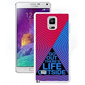 Go Out (2) Durable High Quality Samsung Note 4 Case