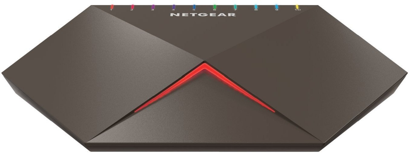 Fanless and Low-Power Consumption Rackmount GS348-100EUS NETGEAR 48-Port Gigabit Ethernet Unmanaged Ethernet Switch Black