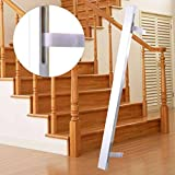 Cunina 1 Pcs Stair Fit 36 Inch Baby Gate Adapter Kit Perfect to Protect Banisters and Wall