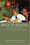 Back to School, Alex Pomson and Randal F. Schnoor, 0814333834