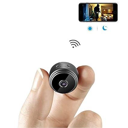 G&F Mini Cámara Espía WiFi Cámara Oculta Inalámbrica HD 1080P Interior Casa Pequeña Cámara Espía Cámaras