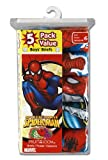 Fruit of the Loom Boys 2-7  Spiderman Briefs Prints,Multi,6(Pack of 5)