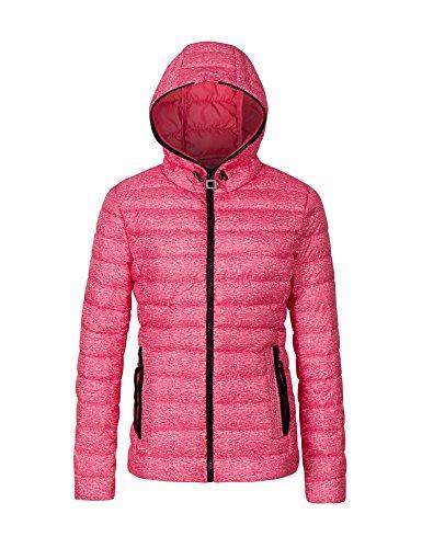 Ladies Nylon Jacket (Bellivera Womens Nylon Lightweight Hooded Puffer Jacket Winter Outwear Coats)