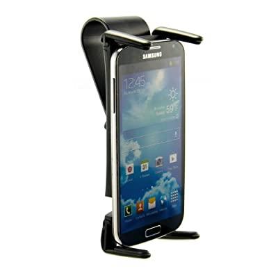 Arkon Sun Visor Car Phone and Midsize Tablet Holder Mount for iPhone X 8 7 Plus 8 7 iPad Mini Retail Black