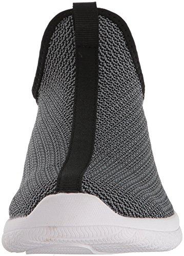 Et1 Trop Chillin Trop Chaussures De Basket-ball En Tricot De Charbon De Bois / Noir / Blanc