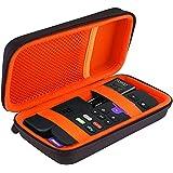 BOVKE Hard Travel Carrying Case for Roku Streaming Stick 3600R/3500R/3500XB, Black