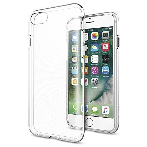 iPhone 7 Funda, L2W Ultra [fina delgada] resistente a arañazos de goma de la piel TPU de silicona suave cubierta protectora del caso para Apple para el iPhone 7 - Claro