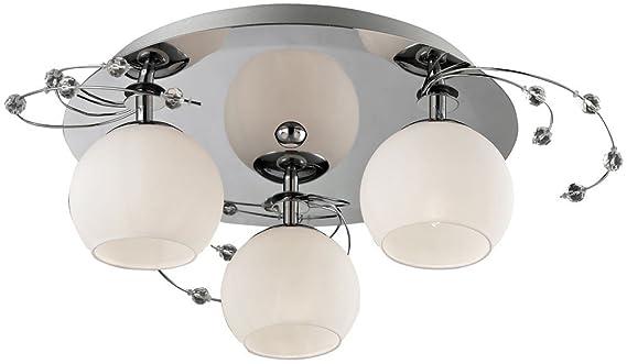 Amazon.de: deckenleuchte glas deckenlampe beleuchtung wohnzimmer