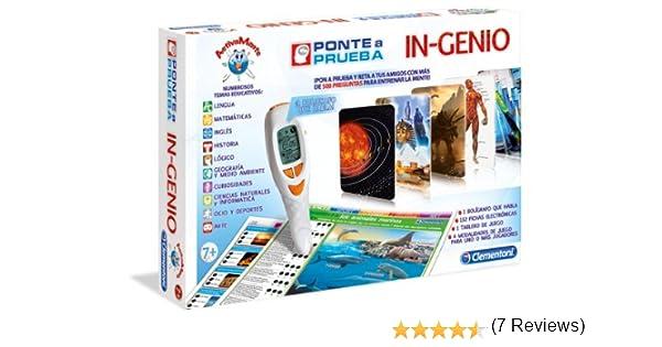 Clementoni - Ponte a Prueba In-Genio (65561): Amazon.es: Juguetes ...
