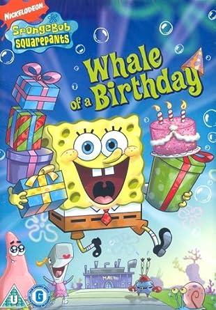 Amazoncom Spongebob Whale of a Birthday DVD NON US FORMAT