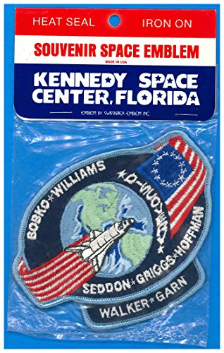 Patch 4 inch Space Shuttle Discovery Mission STS-51D - MOC 1985 Vintage NASA