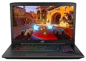 """ASUS ROG STRIX GL703VD 17"""" Gaming Laptop, GTX 1050 4GB, Intel Core i7 2.8 GHz, 16GB DDR4, 256GB SSD + 1TB HDD, RGB Keyboard"""