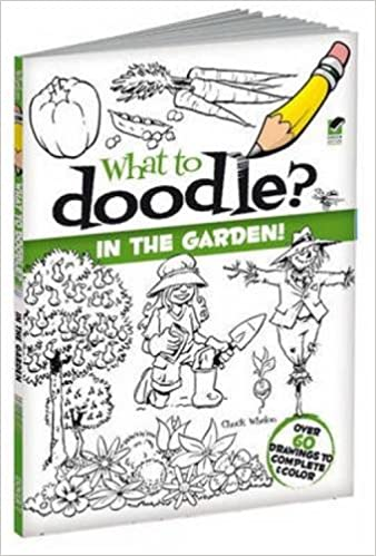 What to Doodle? In the Garden! (Dover Doodle Books)