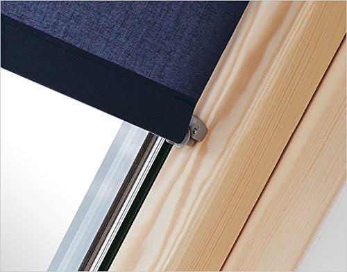 Innenrollo RAR FXA dunkelblau 48 cm breit f/ür Dachfenster Gr/ö/ße F6A 66 x 118 cm