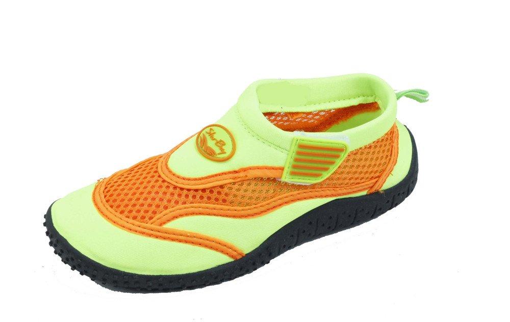 Sunville New Starbay Brand Childrens Slip-On Athletic Water Shoes/Aqua Socks Green 10 M US Toddler
