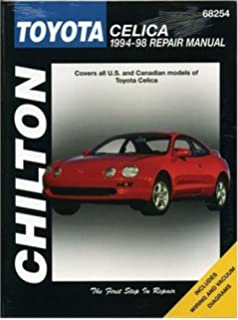 Haynes Toyota Celica 92020 - Car Manual 1986-1999 FWD