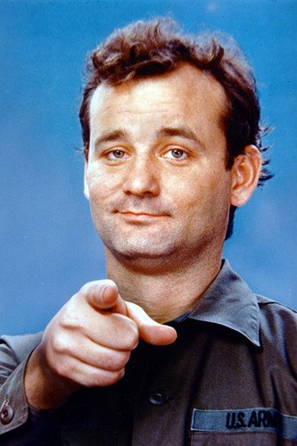 bill murray pointing from stripes 24x36 poster at amazon s