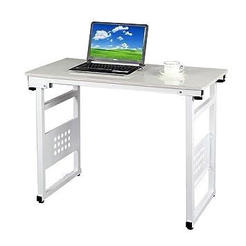 Yisaesa Bandeja para Ordenador portátil Cepillado Soporte para computadora Desmontable Mesa para computadora portátil Escritorio de Material de MDF para ...