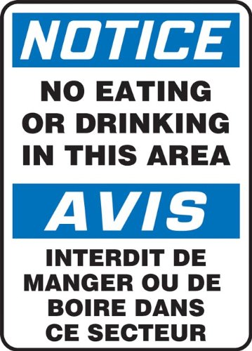 accuform-signs-fbmgnf803vp-plastic-french-bilingual-sign-legend-notice-no-eating-or-drinking-in-this