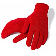 Agloves Sport Touchscreen Gloves, iPhone Gloves, Texting Gloves (Red, Medium/Large)