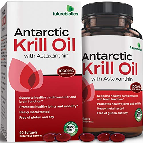 - Futurebiotics Antarctic Krill Oil 90 Softgels