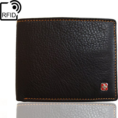 swiss-travel-club-mens-leather-rfid-blocking-flipout-id-wallet-bifold-trifold-hybrid-dark-brown