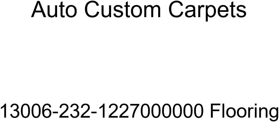 Auto Custom Carpets 13006-232-1227000000 Flooring