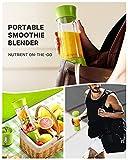 Portable Blender, TKTK 18 Oz Personal Blender for