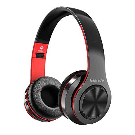 GIARIDE Auriculares Bluetooth con Entrada de Tarjeta TF, línea Auxiliar, micrófono