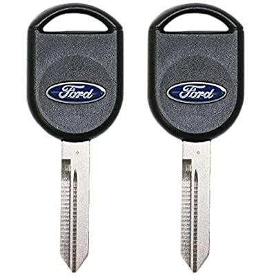 Ford 5918997-2 Pack OEM TRANSPONDER CHIP Ignition Master Key Logo 82 GRV IPATS RFID - Jewel: Automotive