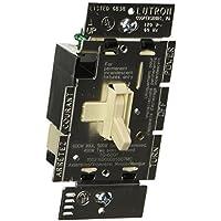 Lutron Electronics Tg-600Ph-La Single Pole Dimmer, 600-watt, Light Almond by Lutron
