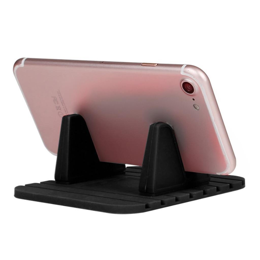 Car Silicone Dash Pad Mat, Universal Dashboard & Desktop Holder for Phones,Tablets, Mp3&Mp4 Player,GPS Navigator (Black) by Kintaz (Image #4)