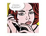 Ohhh...Alright..., 1964 Poster by Roy Lichtenstein (14.00 x 11.00)