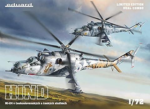 Eduard Models Helicopter Model Kit - Mi 24 Hind Helicopter