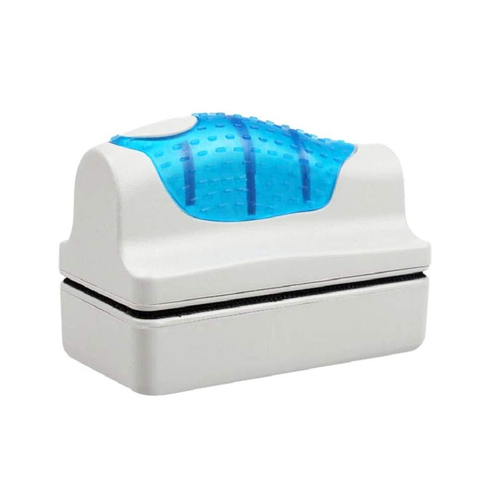 Aquarium Fish Tank Magnetic Brush Convenient Glass Floating Curve AlEXe Scraper Cleaner Floating Clean Brush Hayden Store